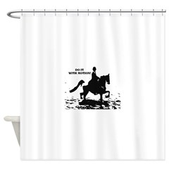 Do It With Motion Shower Curtain