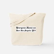 East Los Angeles girl Tote Bag