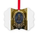 Fremasonry Share It Picture Ornament