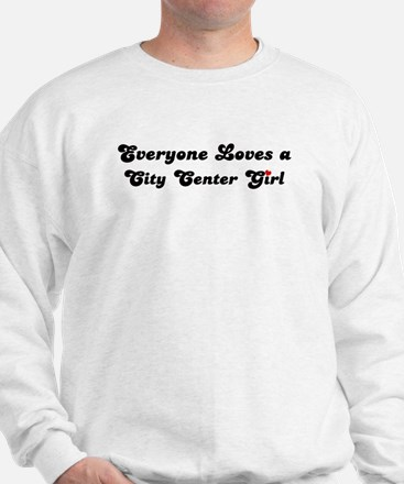 City Center girl Sweatshirt