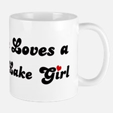 Big Bear Lake girl Mug