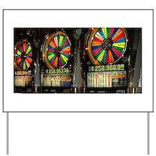 Las Vegas Slots Yard Sign