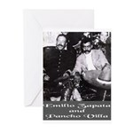 Villa and Zapata Greeting Cards (Pk of 20)