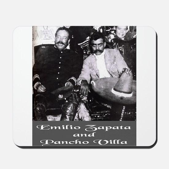 Villa and Zapata Mousepad
