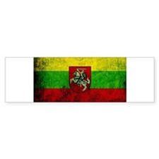 Lithuania Flag Bumper Sticker