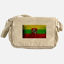 Lithuania Flag Messenger Bag