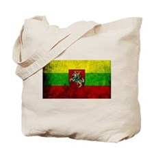 Lithuania Flag Tote Bag