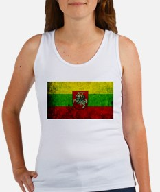 Lithuania Flag Women's Tank Top