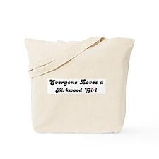 Kirkwood girl Tote Bag