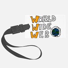World Wide Web Luggage Tag