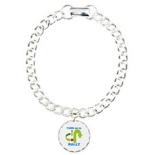 Rally.png Charm Bracelet, One Charm