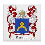 Deszpot Coat of Arms Tile Coaster