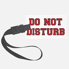 Do Not Disturb Luggage Tag