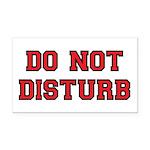 Do Not Disturb Rectangle Car Magnet