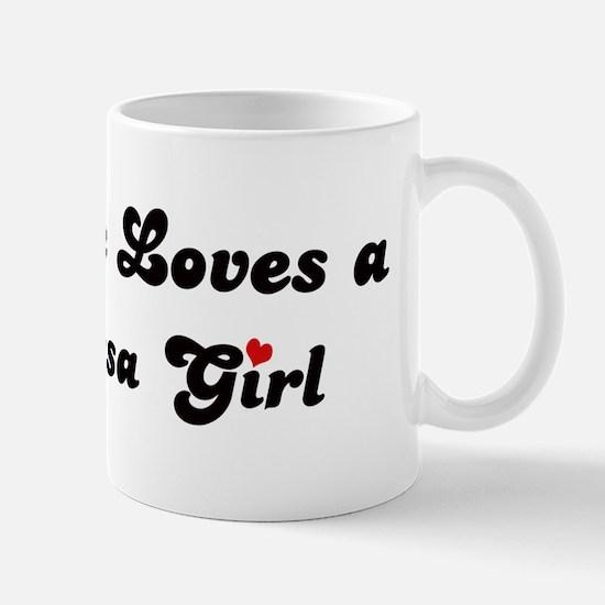Berryessa girl Mug