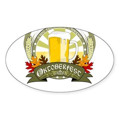 Oktoberfest 2012 Sticker (Oval)