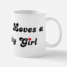 King City girl Mug