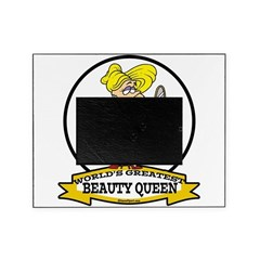 WORLDS GREATEST BEAUTY QUEEN CARTOON.png Picture Frame