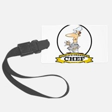 WORLDS GREATEST CHEF CARTOON.png Luggage Tag