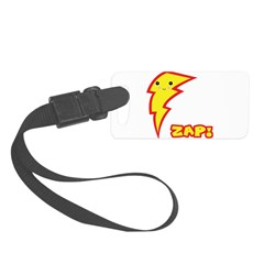 kawaii zap lightning boltt.png Luggage Tag