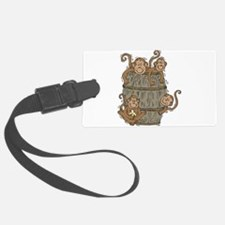 barrel of monkeys.png Luggage Tag