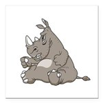 RHINO vvMAD copy.jpg Square Car Magnet 3