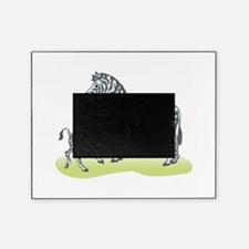 mommy and baby zebra.png Picture Frame