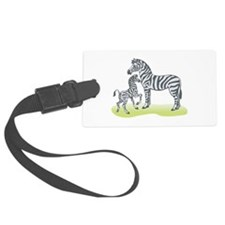 mommy and baby zebra.png Luggage Tag