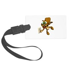 squirrel in light socket.png Luggage Tag