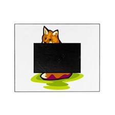 sitting prettty fox.png Picture Frame