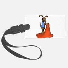 anteater and anttill.png Luggage Tag