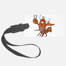 tow lobster file.png Luggage Tag