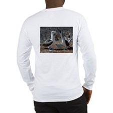 Blue-footed boobie Dance - Long Sleeve T-Shirt