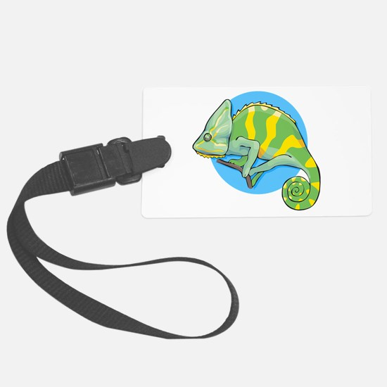 chameleon_002022.png Large Luggage Tag