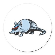 cool armadillo copy.jpg Round Car Magnet