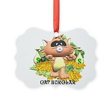 cat burglar.jpg Ornament