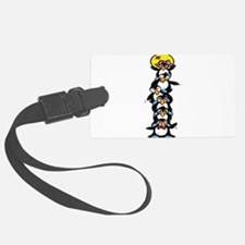 penguin totem pole.png Luggage Tag