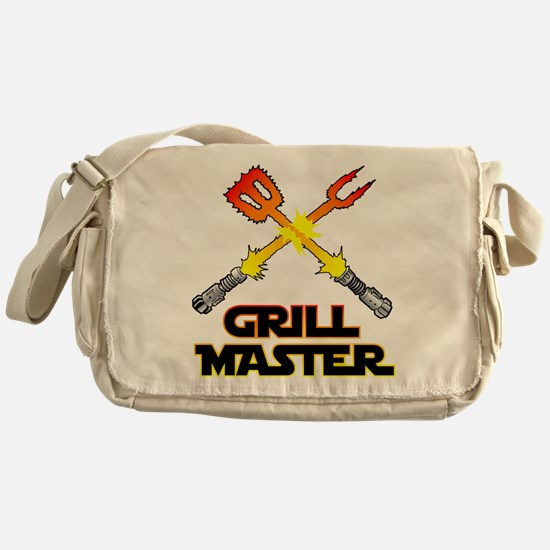 Grill Master Messenger Bag