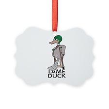 lame duck copy.jpg Ornament