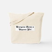 Cayucos girl Tote Bag