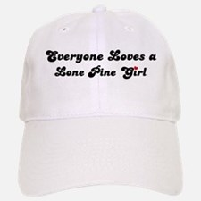 Lone Pine girl Baseball Baseball Cap