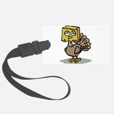 hiding paper bag face turkey.png Luggage Tag