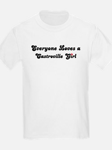Castroville girl Kids T-Shirt