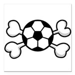 soccer ball.png Square Car Magnet 3