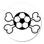 soccer ball.png Round Car Magnet