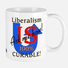 Liberalism is Curable Small Small Mug