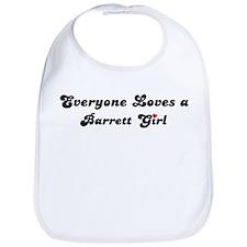 Barrett girl Bib