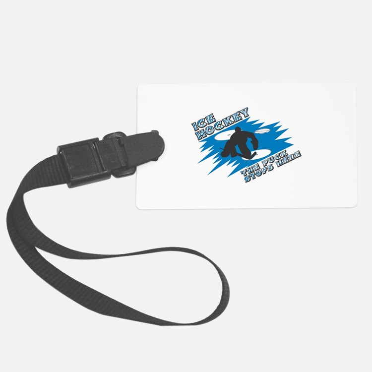 1puckstops here copy.png Luggage Tag