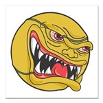 angry tennisball.jpg Square Car Magnet 3