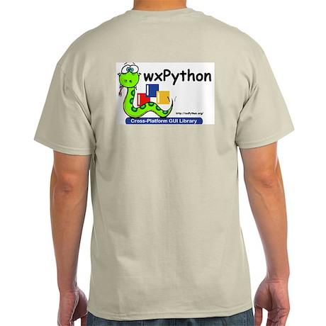 wxPython Grey T-Shirt
